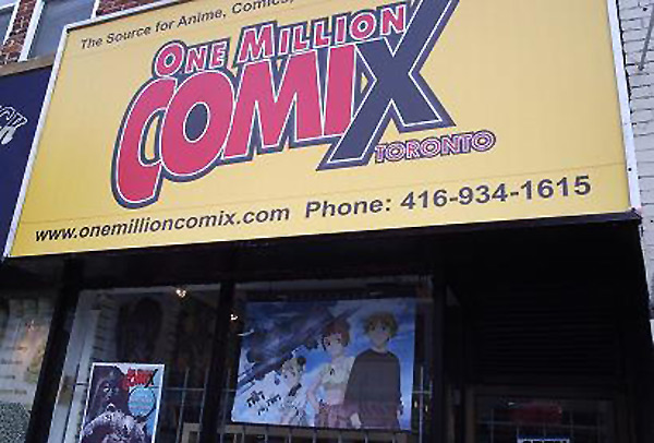One Million Comix