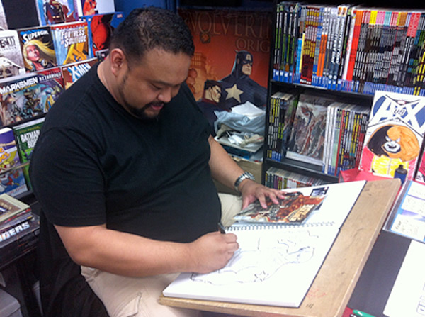 Paradise Comics - Marvin Law
