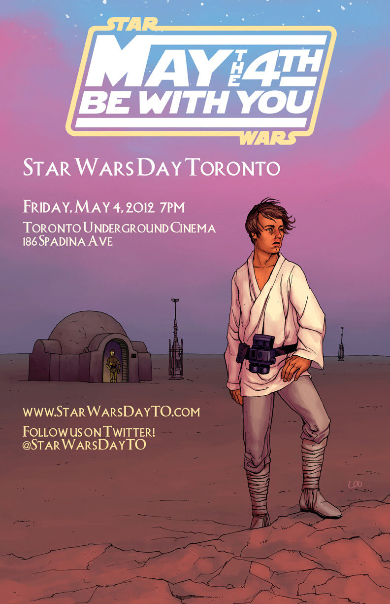 Star Wars Day Toronto Poster