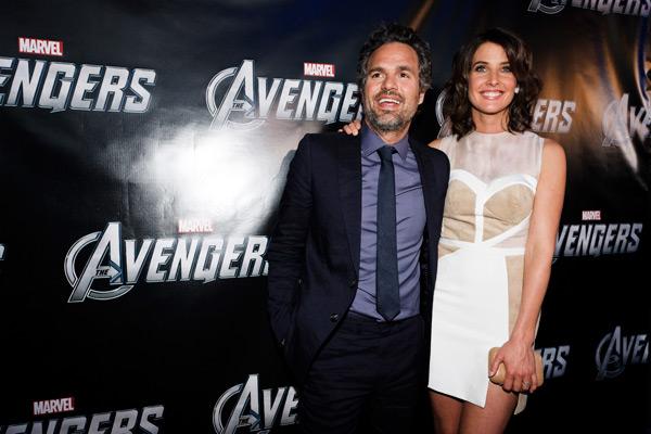 The Avengers - Toronto Premiere - Mark Ruffalo & Cobie Smulders