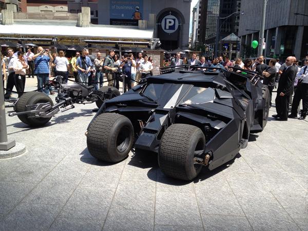The Dark Knight Rises - Tumbler in Toronto