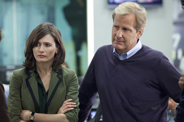 The Newsroom - Emily Mortimer & Jeff Daniels