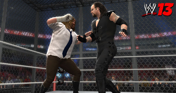WWE '13 Mankind v. Undertaker