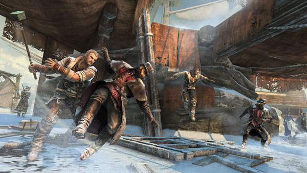 Assassin's Creed 3 - multiplayer screen