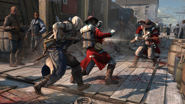 Assassin's Creed 3 - musket double assassination