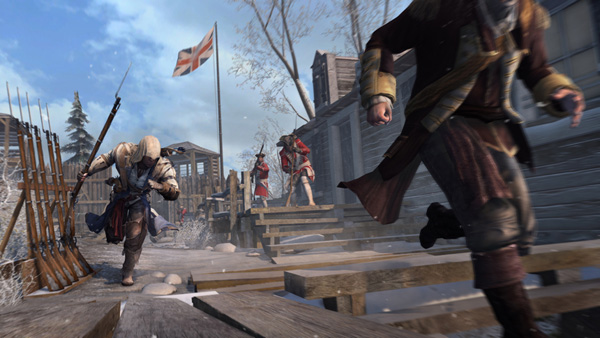Assassin's Creed 3 - Frontier pickup on the run