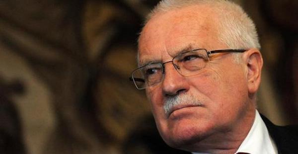 Czech Republic President Václav Klaus