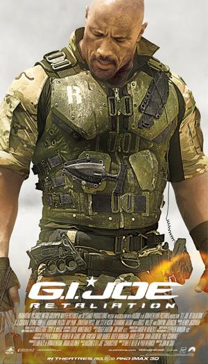 GI Joe Retaliation Promo Poster