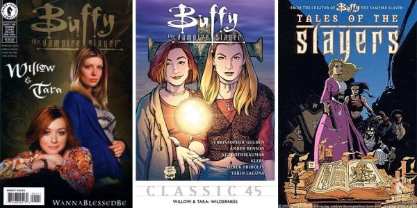 Buffy Comics Trio