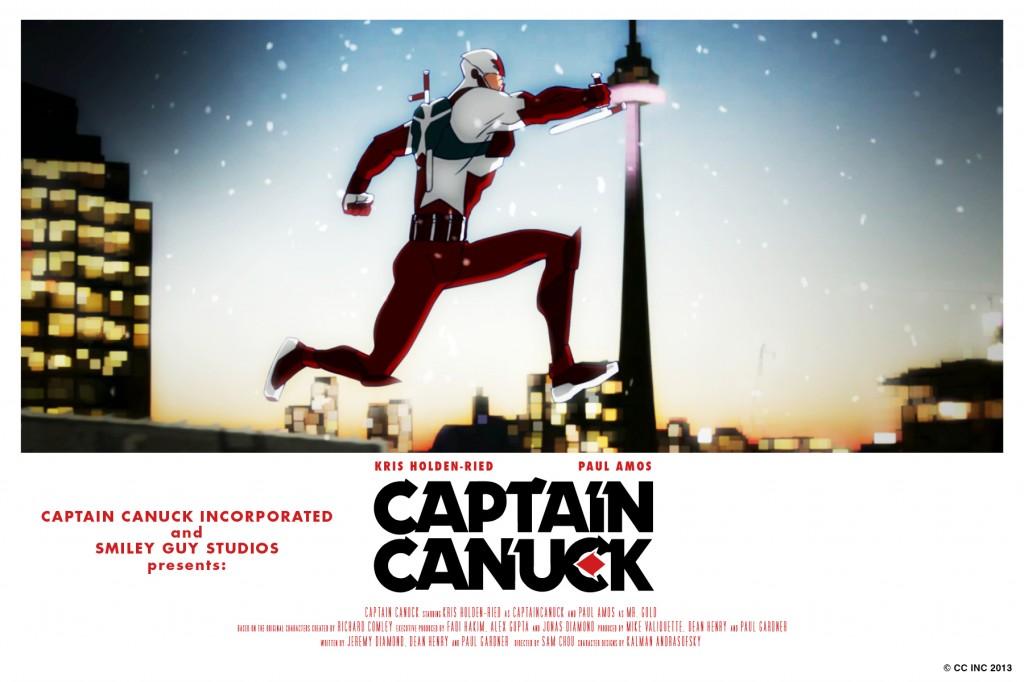 Captain Canuck Postcard