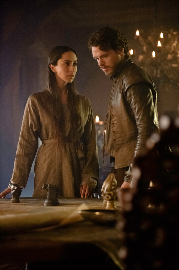 Game of Thrones - Season 3 - Robb Stark and Talisa