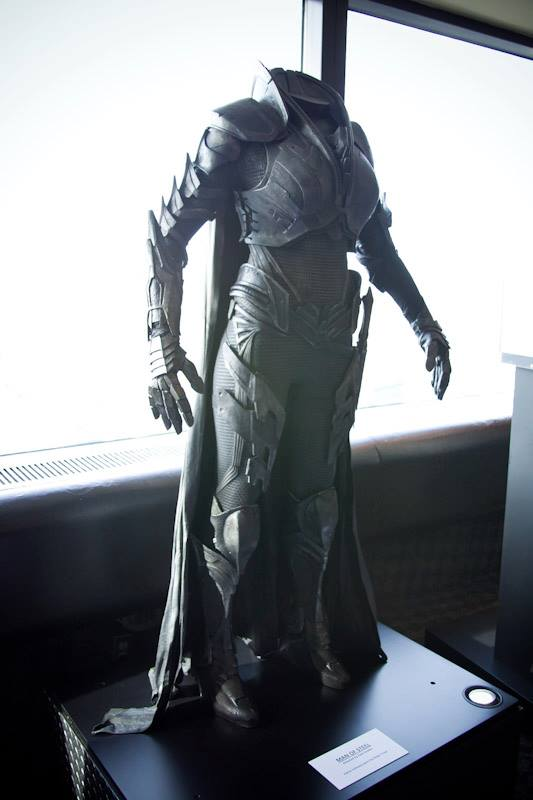Man of Steel Toronto CN Tower - Antje Traue outfit for Faora, follower of ZOD. (It just BEGS to me in all capitals, doesn't it?)