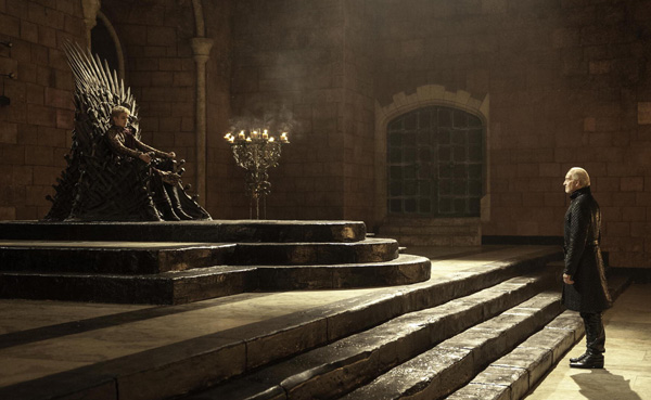 Game of Thrones - Season 3 - Joffrey and Tywin