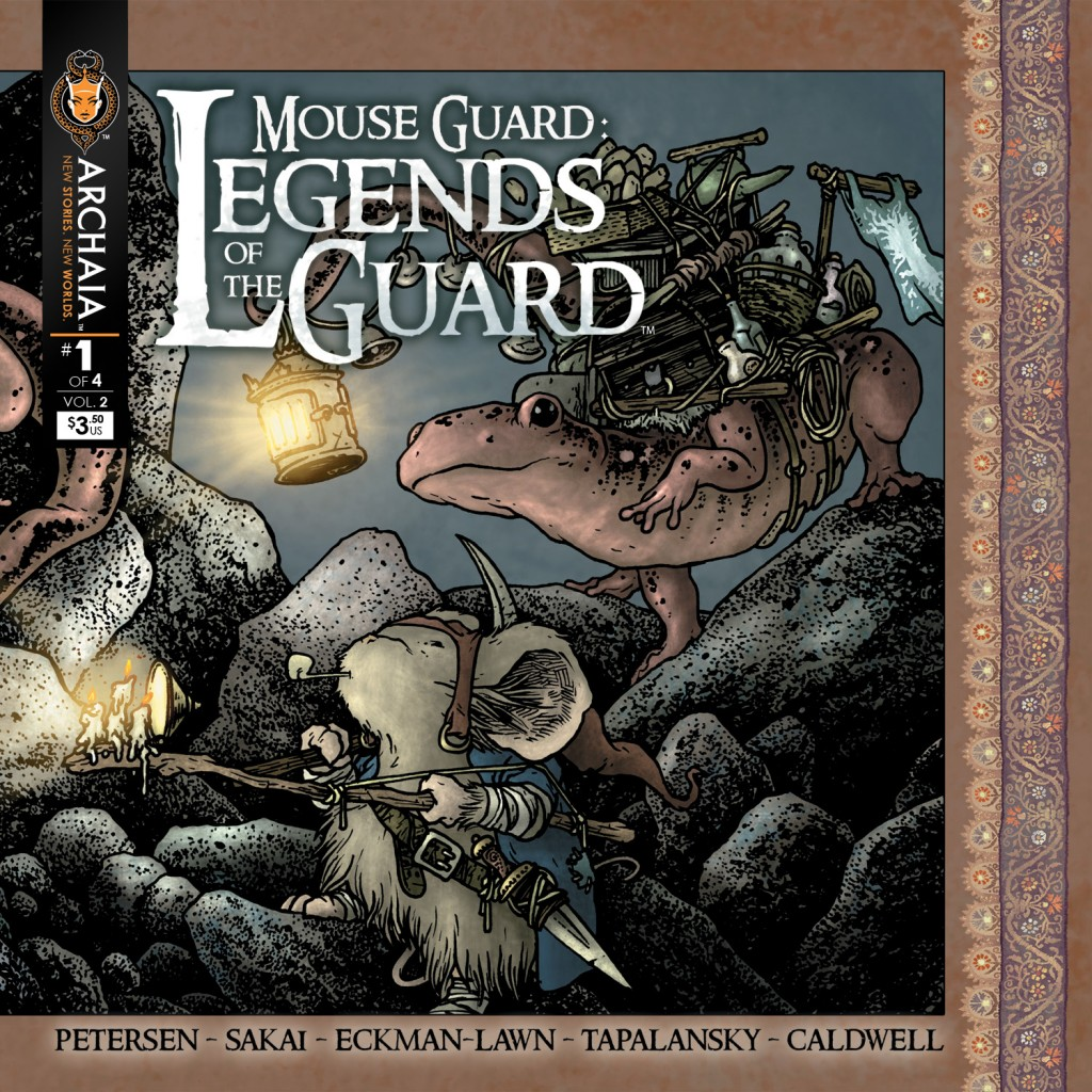 Mouse Guard Legends of the Guard Cover