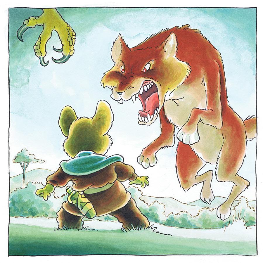Stan Sakai Mouse Guard page