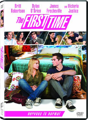 The First Time - DVD Box Art