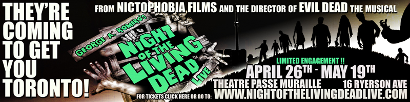 Night of the Living Dead Live Banner