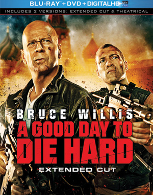 Good Day to Die Hard - Blu-Ray Box Art