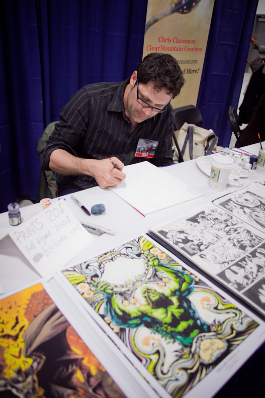 Yanick Paquette at Ottawa Comic Con