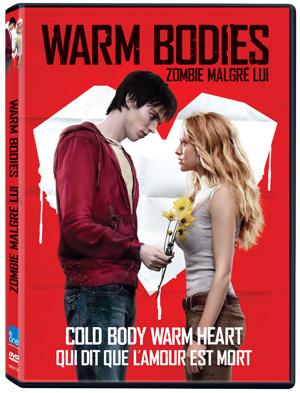 Warm Bodies DVD Box Art