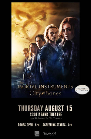 Mortal Instruments - Red Carpet Event Invite