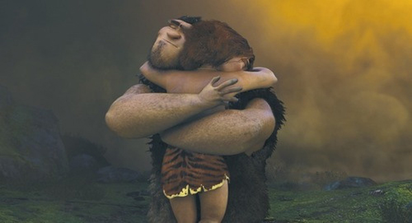 Eep and Grug - The Croods