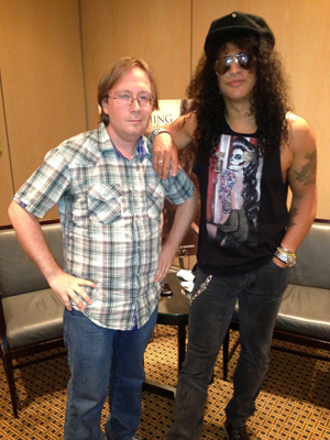 Andrew Parker and Slash