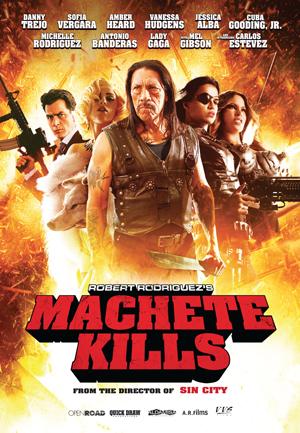 Machete Kills One Sheet