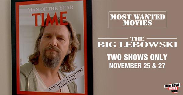 Big Lebowski - Most Wanted Movies