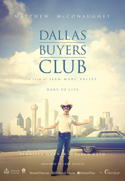 Dallas Buyers Club One Sheet Canada