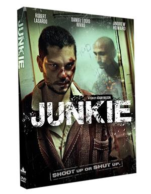 Junkie DVD Box Art