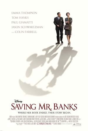 Saving Mr Banks One Sheet