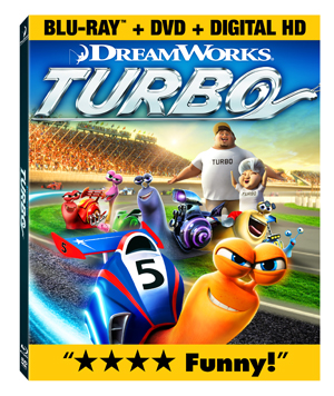 Turbo Blu-Ray Box Art