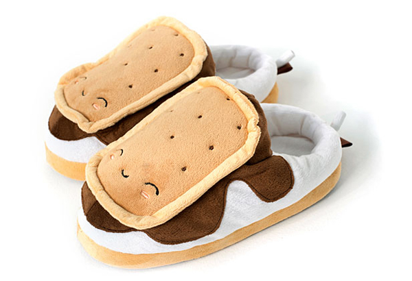 Smores USB Slippers