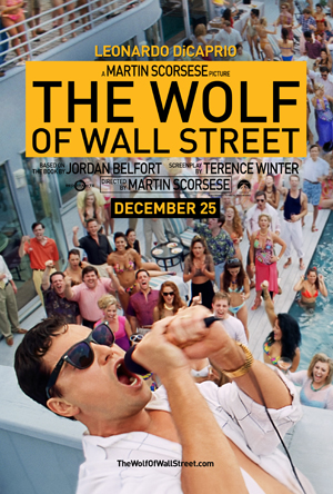 Wolf of Wall Street Teaser Poster