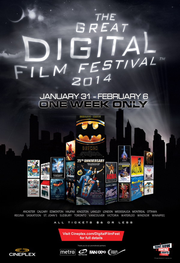 Great Digital Film Festval 2014 Poster