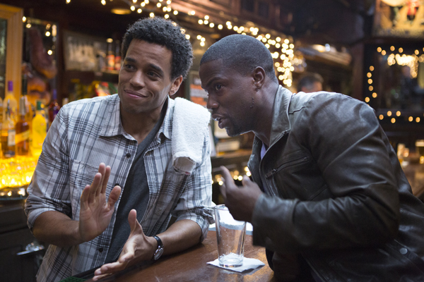 Michael Ealy;Kevin Hart