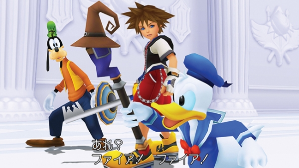 kingdom hearts-chain of memories