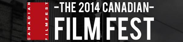 2014 Canadian Film Fest Logo