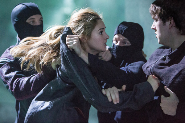 SHAILENE WOODLEY and CHRISTIAN MADSEN star in DIVERGENT