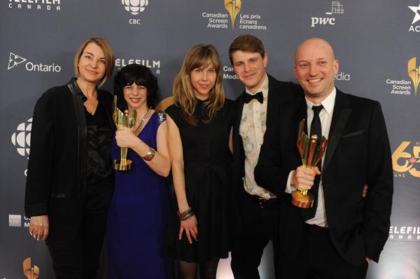 Gabrielle CSA Winners