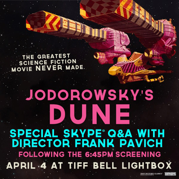Jodorowskys Dune Q and A
