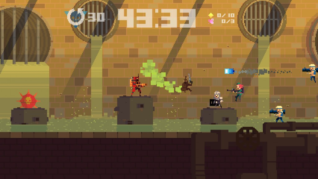 Super Time Force - Squirty Harry