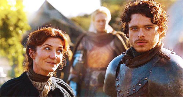 Game of Thrones - Robb Stark Catelyn Stark