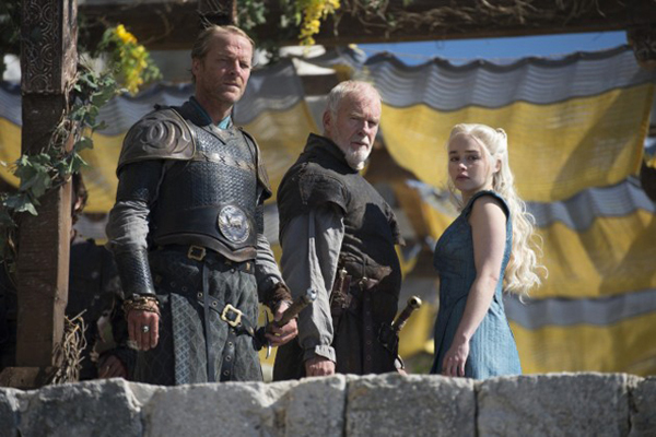 Game of Thrones - Season 4 Episode 4 - Jorah Barristan Dany