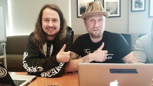 Roy Orbison Jr. (left) and Alex Orbison (right)