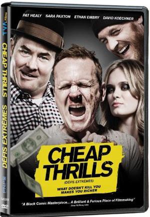 Cheap Thrills DVD TVA Films