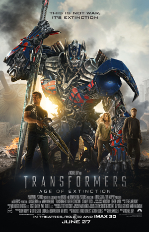 Transformers Age of Extinction One Sheet