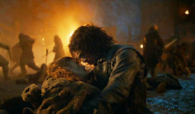 Game of Thrones Season 4 Episode 9 Jon Ygritte