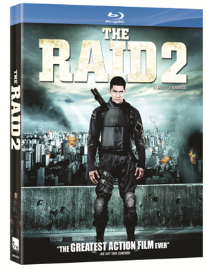 The Raid 2 Box Art